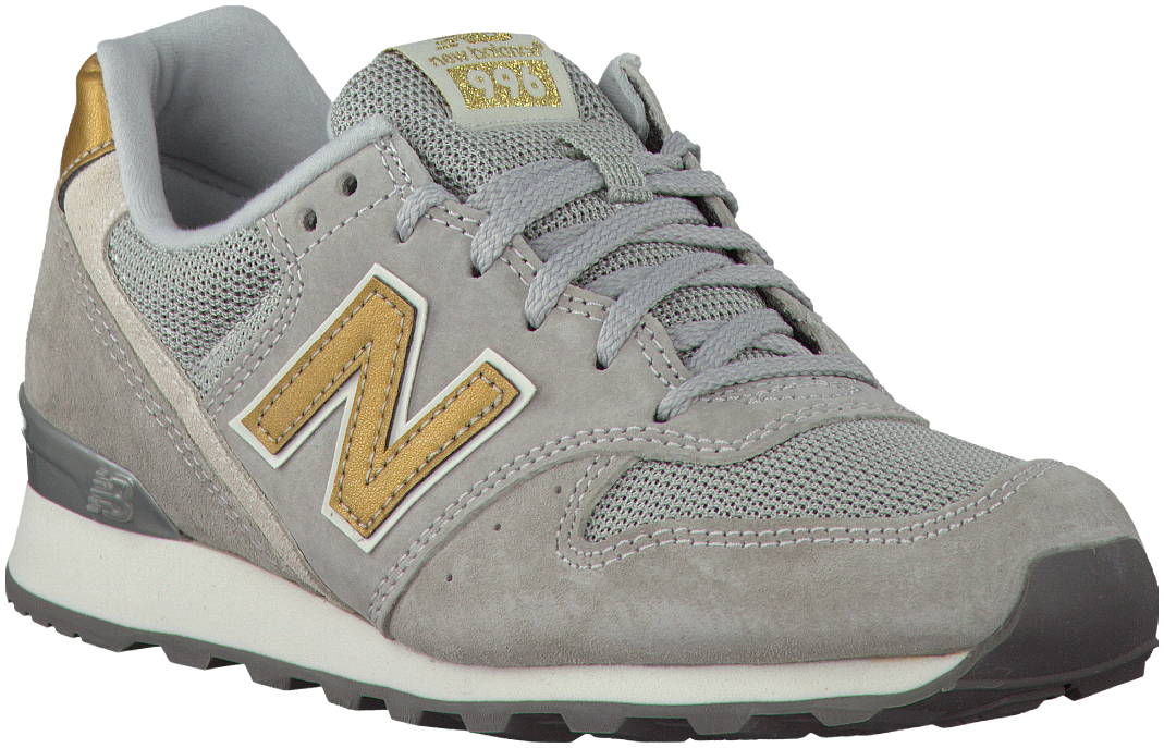 Grey New Balance Sneakers http://www.omoda.nl/dames/sneakers ...