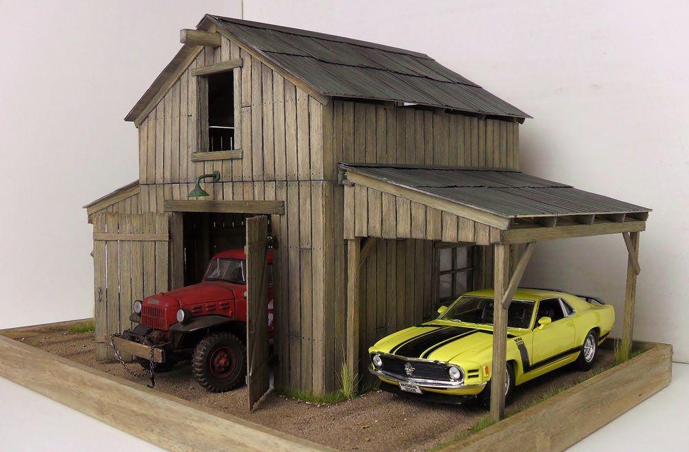 1 24 1 25 Barn Garage Diorama For Sale On Ebay: ComprareSendere Diorama Show Room Modellini Auto T