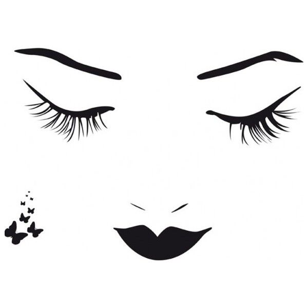 Beautiful Artistic Female Face Abstract Design Wall Art