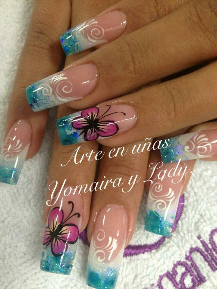 Pin de Karina Del en uñas | Pinterest | Arte, Diseños de uñas y ...