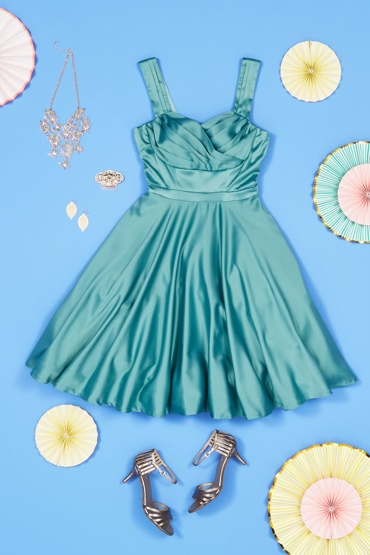Bridesmaids in every shade! Find turquoise, aqua, and sea foam ...