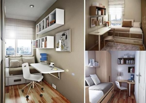 дизайн маленькой комнаты для подростка 1