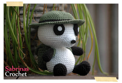 Amigurumi Leren Haken : Indiana panda gratis amigurumi haakpatroon haken nederlands
