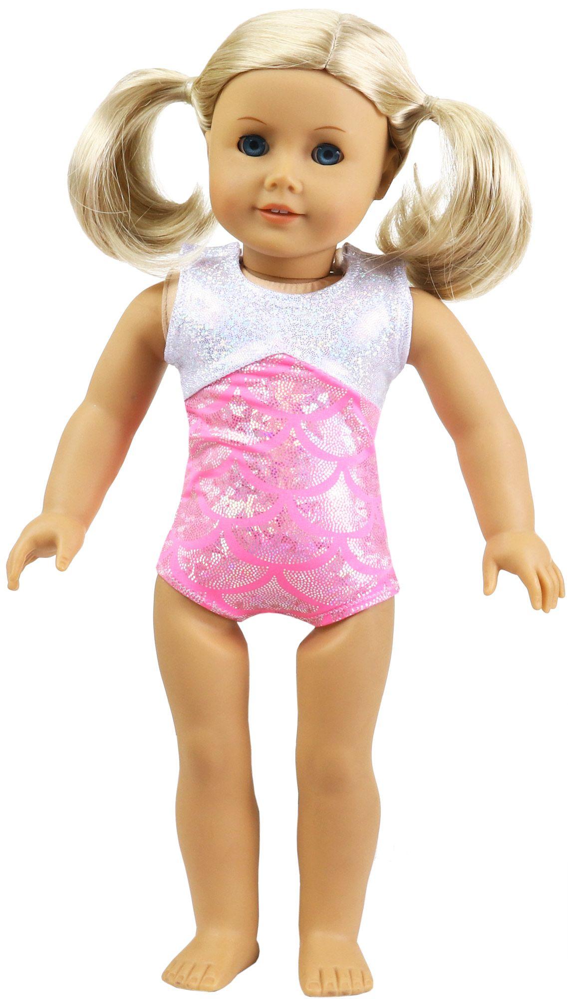 c0c5363a5b44 Splash Matching Doll Leotard - Pink