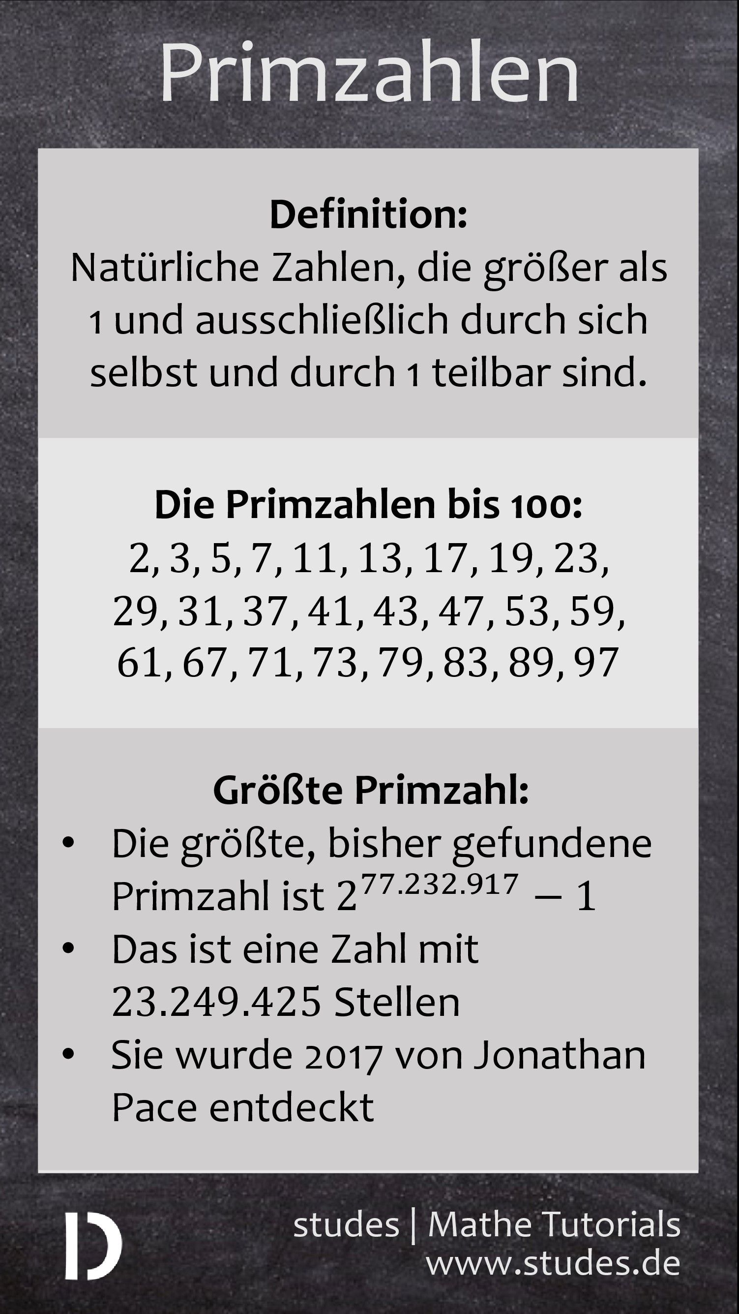 Beautiful Primzahlen 1 100 Arbeitsblatt Embellishment - Kindergarten ...