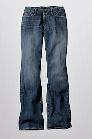 Curvy Fit Boot Cut Jeans - Discontinued