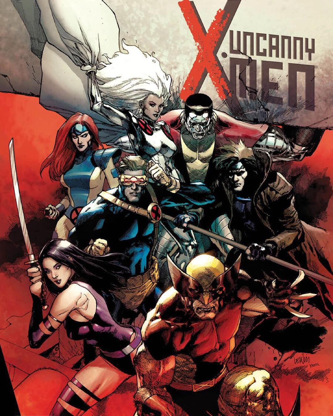 Hella Fresh Leinil Yu S X Men 600 Variant Cover Marvel Final Set The Release Date For Nov 4 For This Issue Just 6 Month X Men Comics Comic Art Community