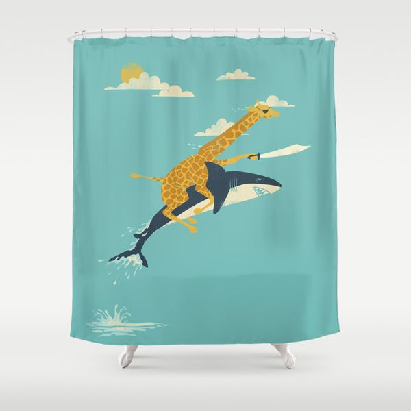 Onward By Jay Fleck As A High Quality Shower Curtain Free