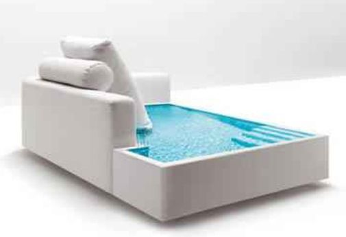 Itu0027s A Water Couch! This Is Cool For All Your Hot Tub Needs In New