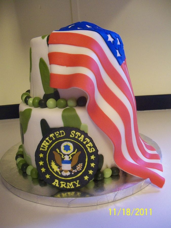 Military birthday cake for my son Sweet Treats Pinterest
