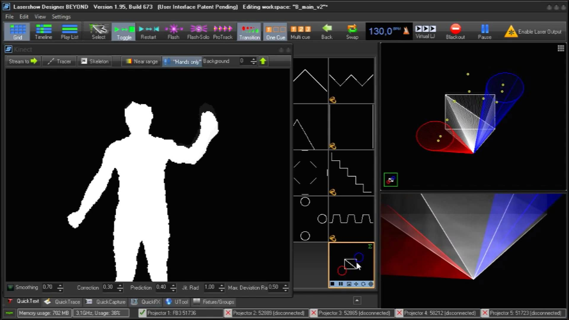 BEYOND Tutorial - Using BEYOND Software with the X-Box Kinect