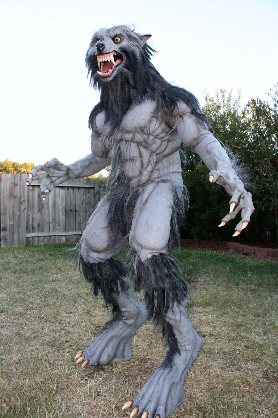 realistic werewolf costume - Google Search | Werewolf Costume ...