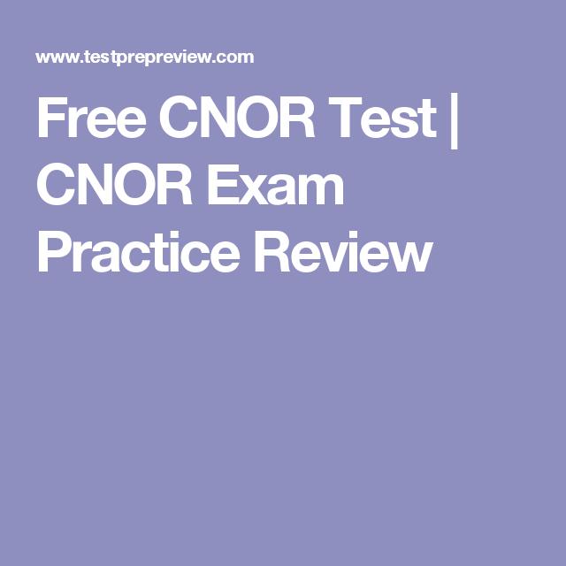 cnor exam practice visit test