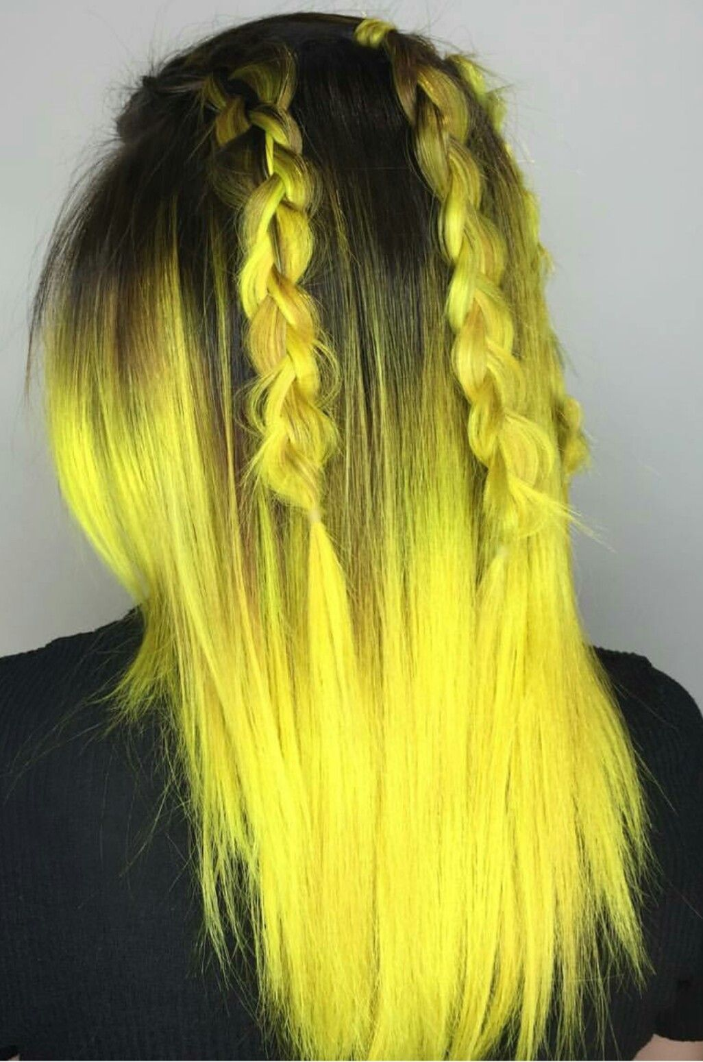 Yellow ombre let down your hair pinterest ombre