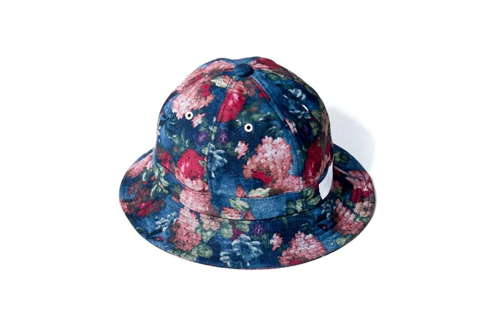 """DeMarcoLab """"ABSTRACT FLORAL BELL HAT"""""""