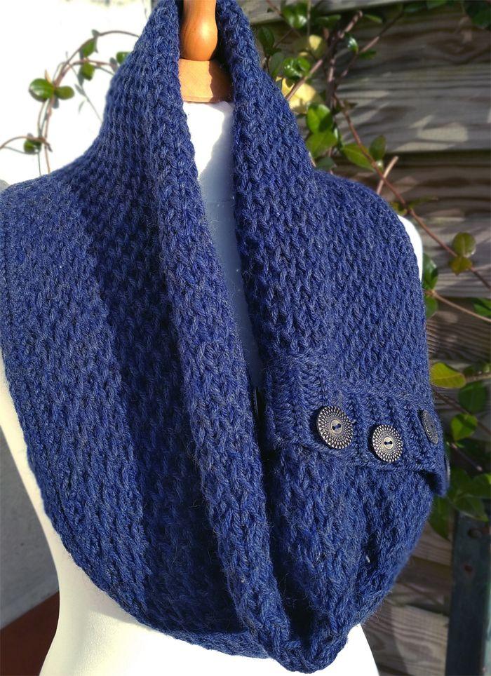 Free Until Dec. 24 2017 Sul Cowl Knitting Pattern - Versatile ...