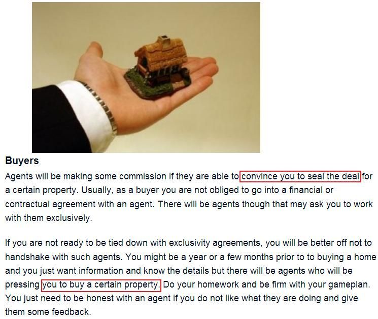 As A Buyer You DonT Have To Pay Commission To Agents But Sellers