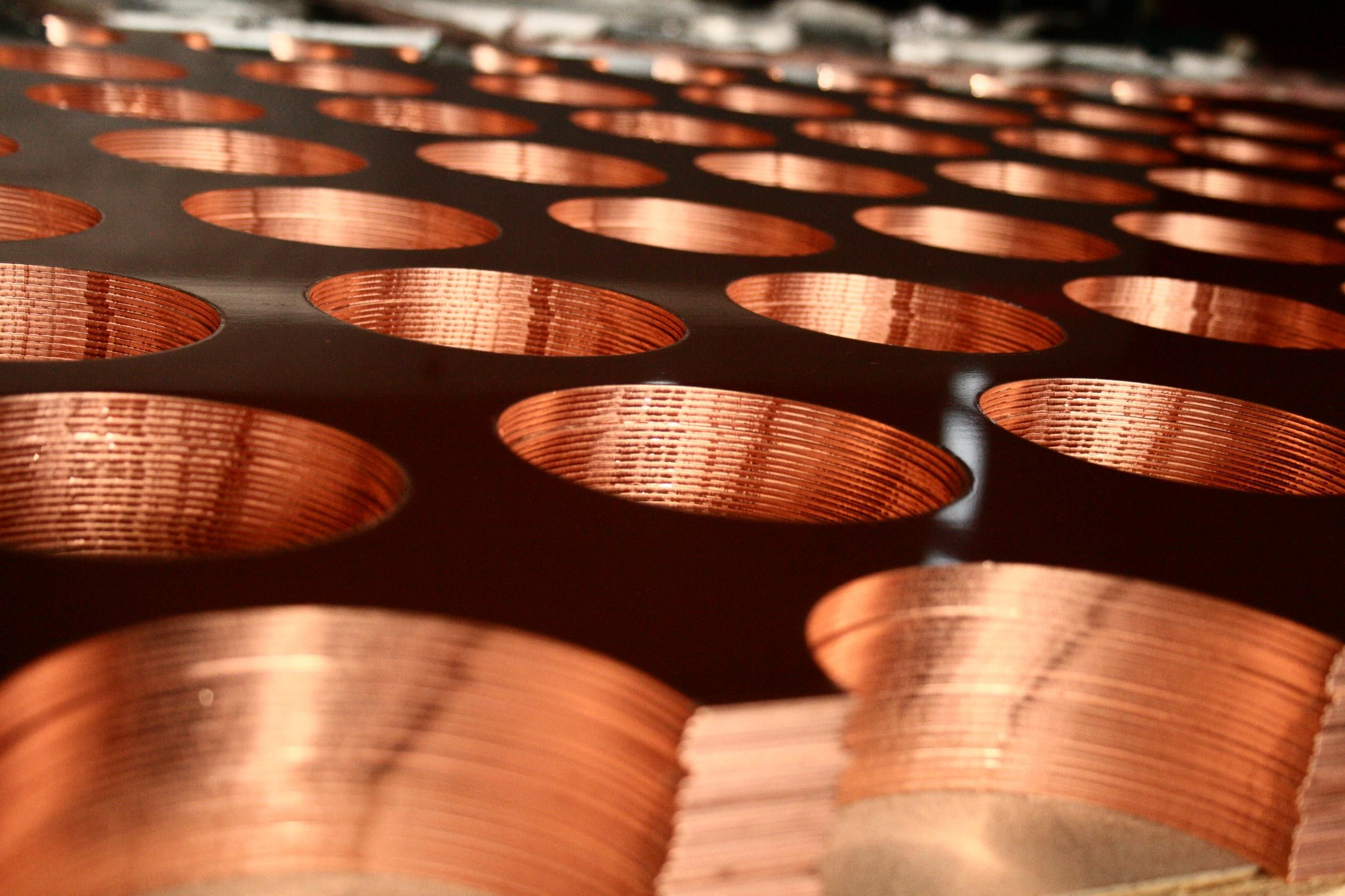 Perforated Copper Panels // KASSO Engineering