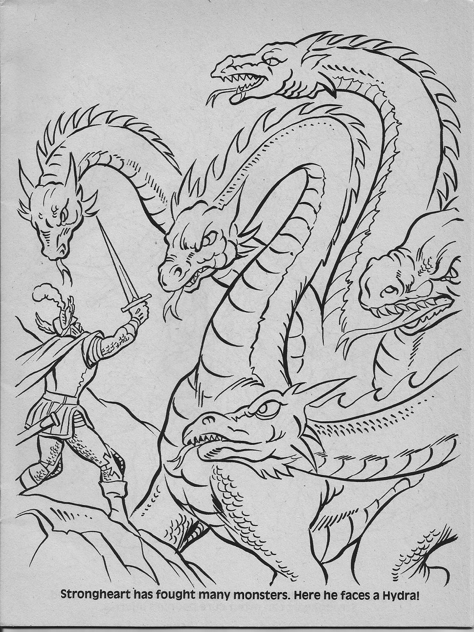 Add Characters Pg 11 Jpg 969 1293 Dragon Coloring Page