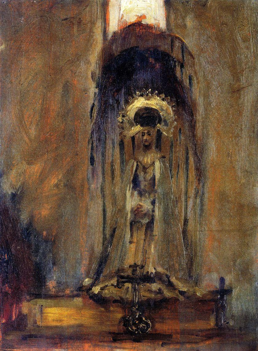 Sketch of a Spanish Madonna - John Singer Sargent 1879 Metropolitan Museum of Art ▓█▓▒░▒▓█▓▒░▒▓█▓▒░▒▓█▓ Gᴀʙʏ﹣Fᴇ́ᴇʀɪᴇ ﹕ Bɪᴊᴏᴜx ᴀ̀ ᴛʜᴇ̀ᴍᴇs ☞  http://www.alittlemarket.com/boutique/gaby_feerie-132444.html ▓█▓▒░▒▓█▓▒░▒▓█▓▒░▒▓█▓