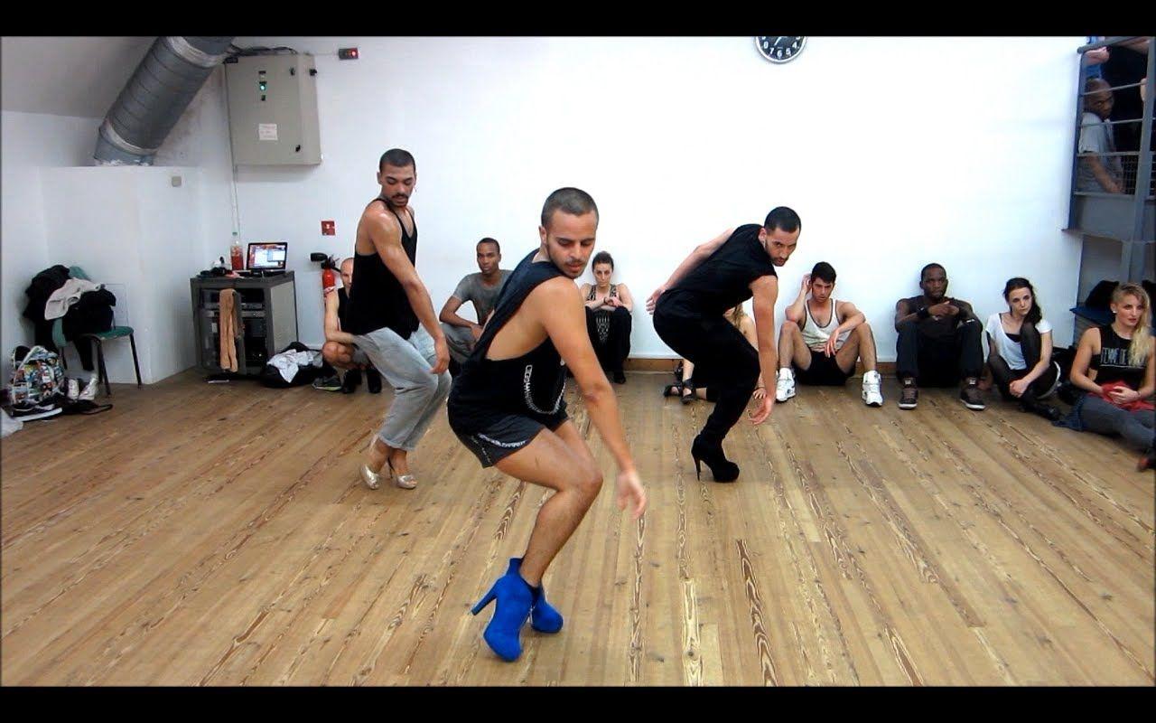 Hot Selling Male Latin Dancing Trouser Men's Black Pants