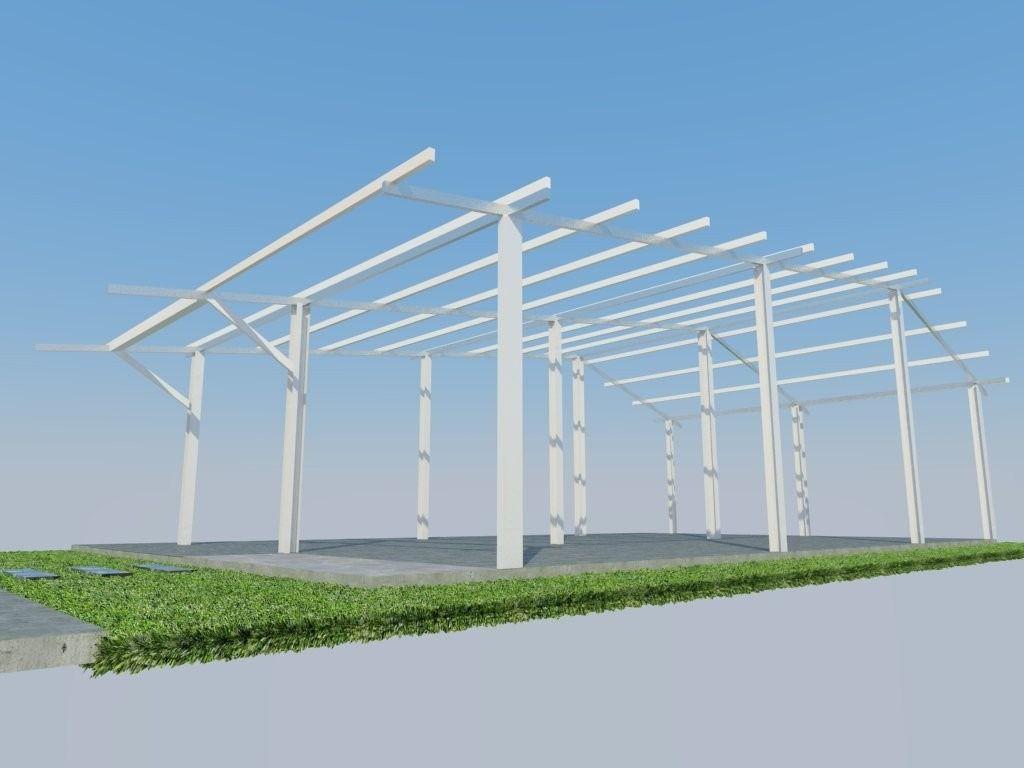 Kit Estructural De Acero (fondo Exposico) Para Casas 75 M2 ...