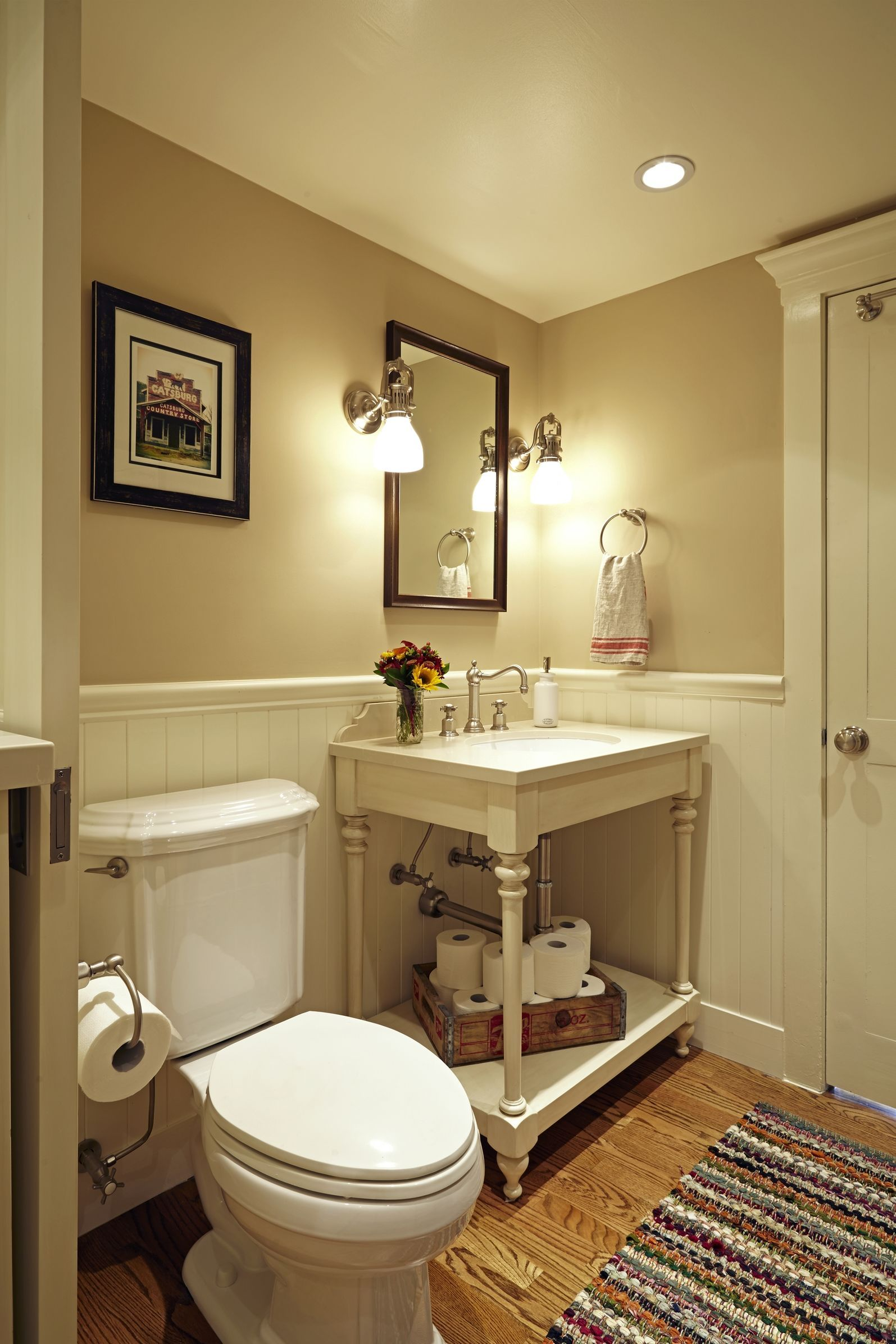 Powder Room Laundry   Traditional   Bathroom   Images By Susan Corry Design  | Wayfair
