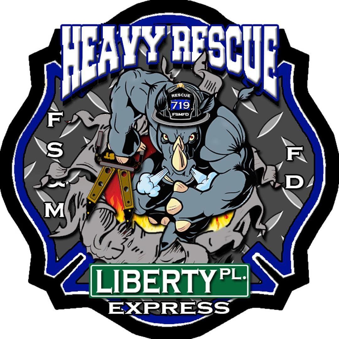 Franklin Square & Munson Fire Department Heavy Rescue co