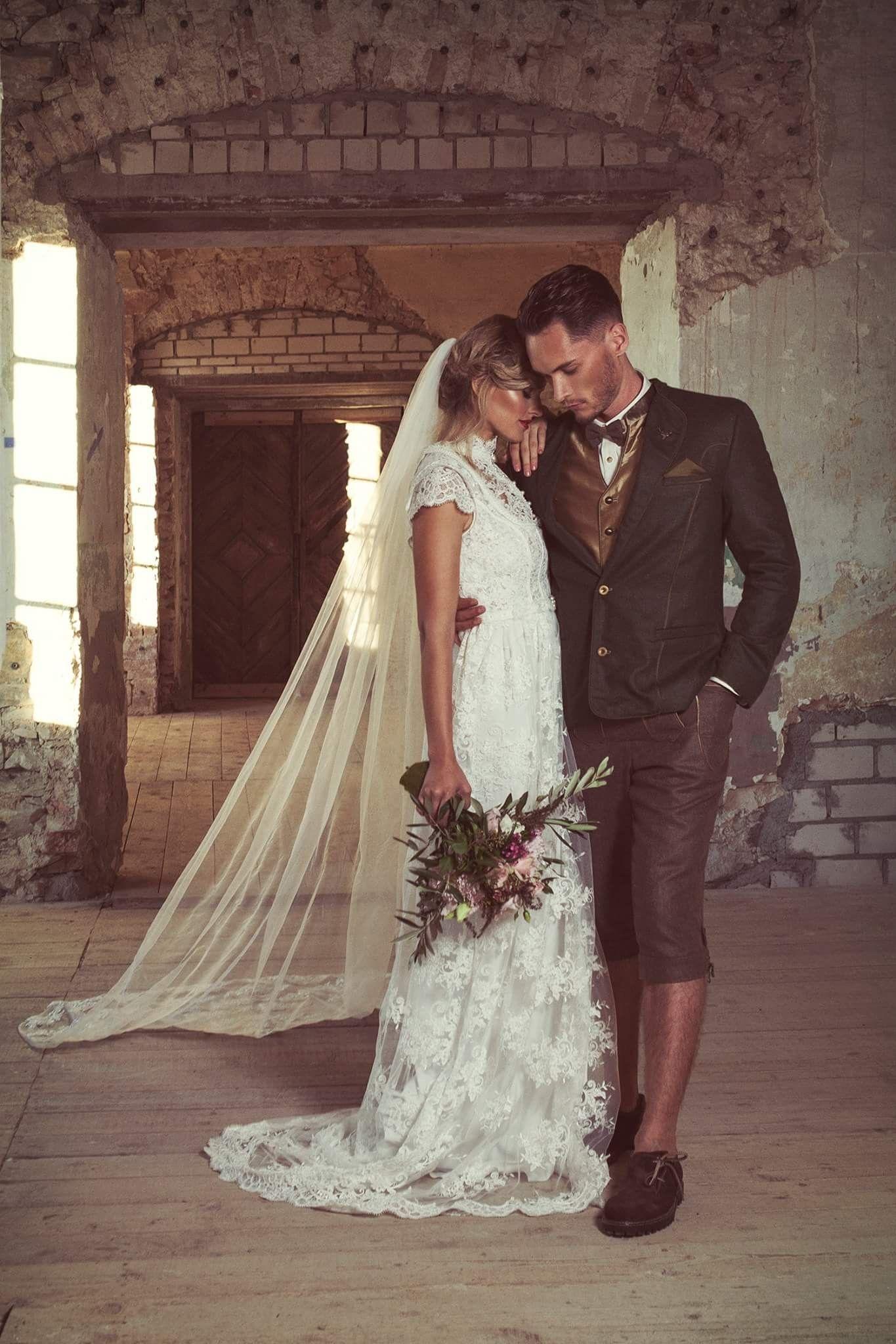 Außergewöhnliches Vintage Brautkleid für die moderne Hochzeit im ...