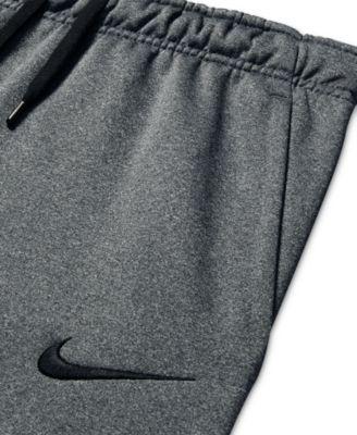 Nike Men's Therma Fleece Open-Bottom Sweatpants - Carbon ...