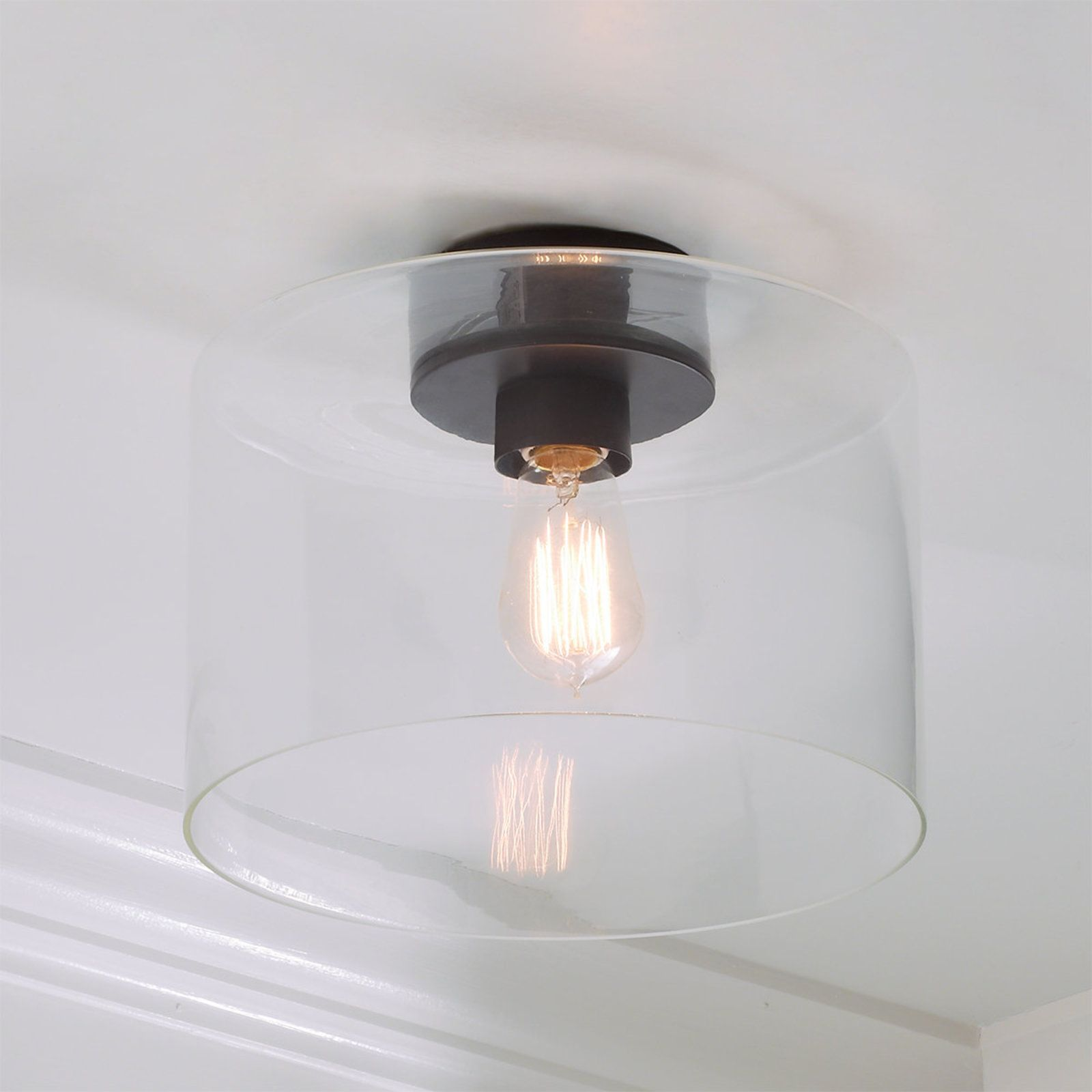 Simple Glass Ceiling Light