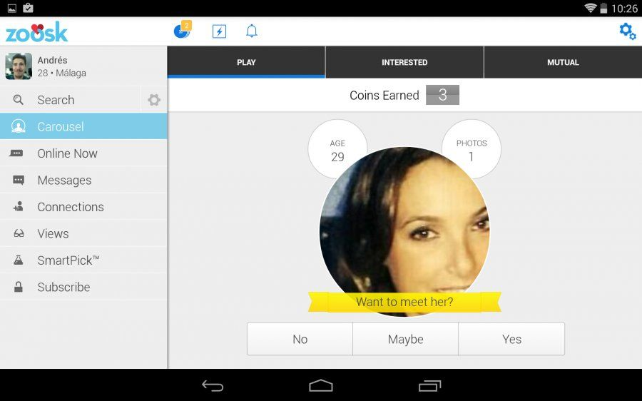 Zoosk hack android