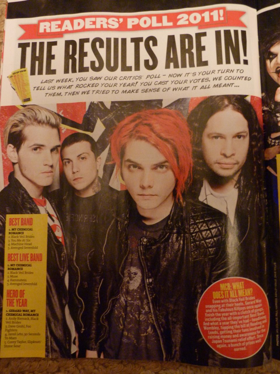 My Chemical Romance It's only obvious that they're awesome!:)