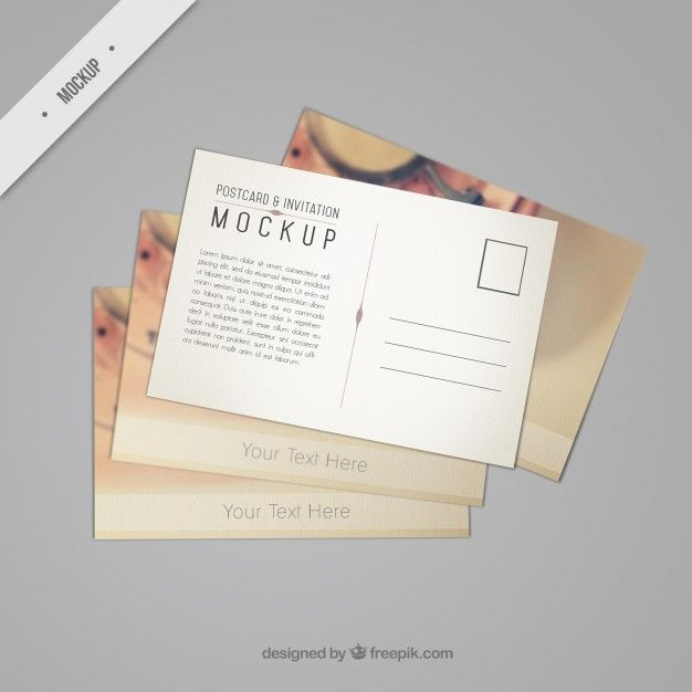 Download Beautiful Postcard Mockup With A Vintage Phone For Free