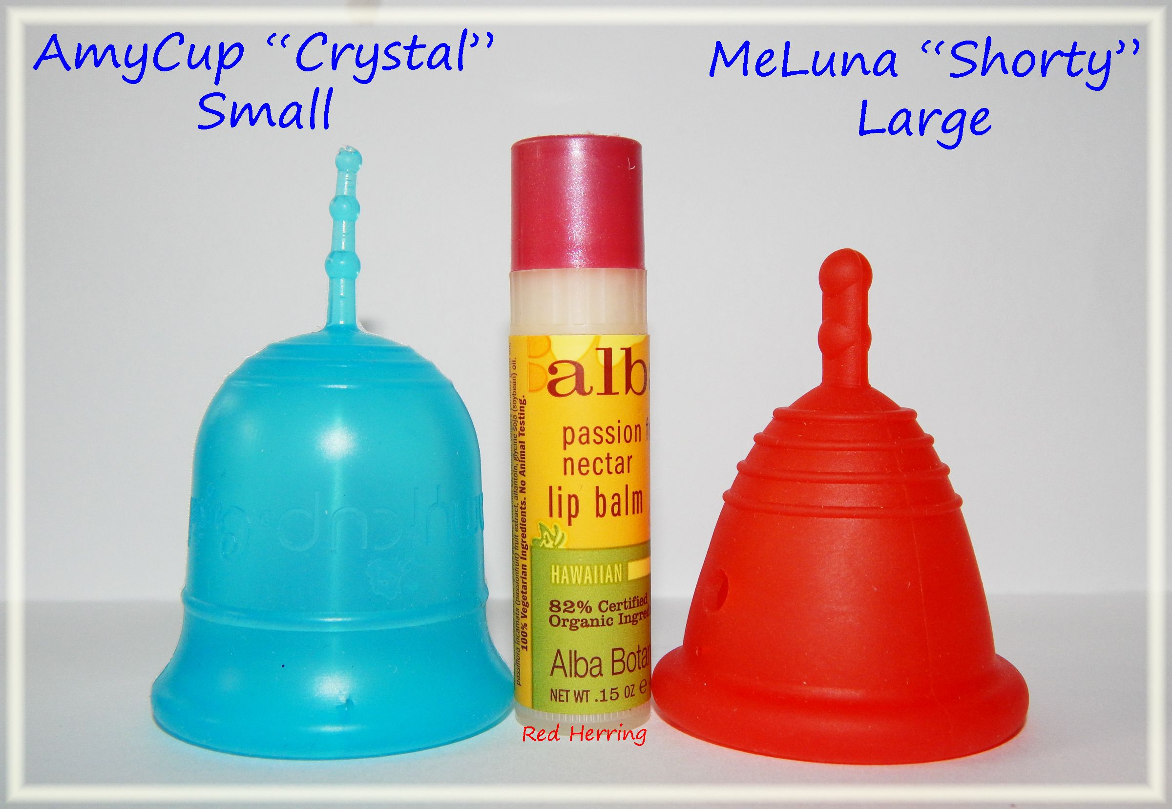 Amycup Crystal Small Vs Meluna Shorty Large The Balm