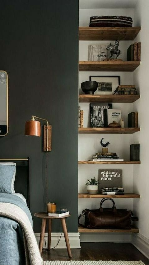 Fit Floating Shelves Into Nooks Small