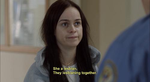 Blqck lesbiche