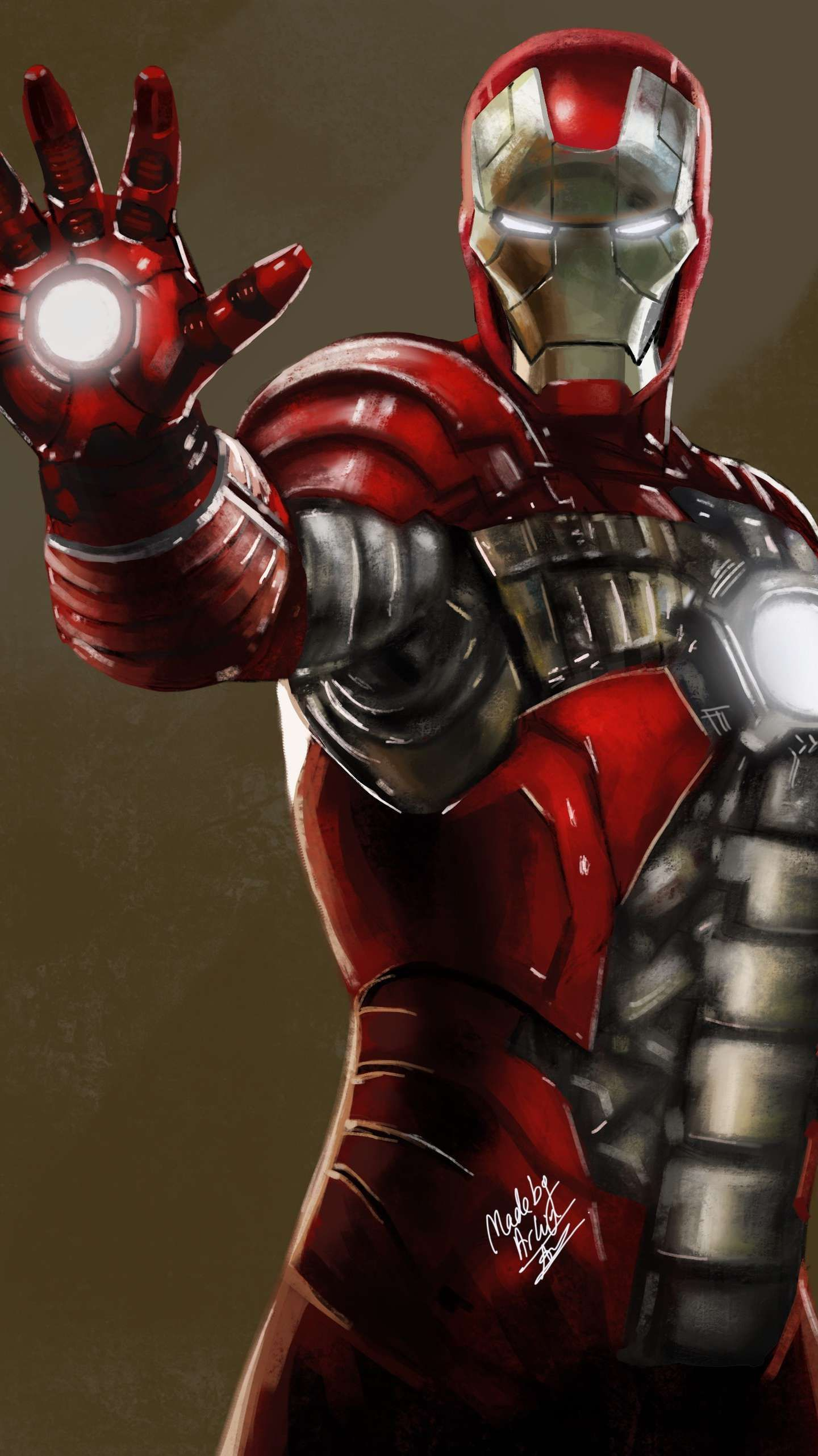 Iron Man Suitcase Armor Mark 5 IPhone Wallpaper Iron man