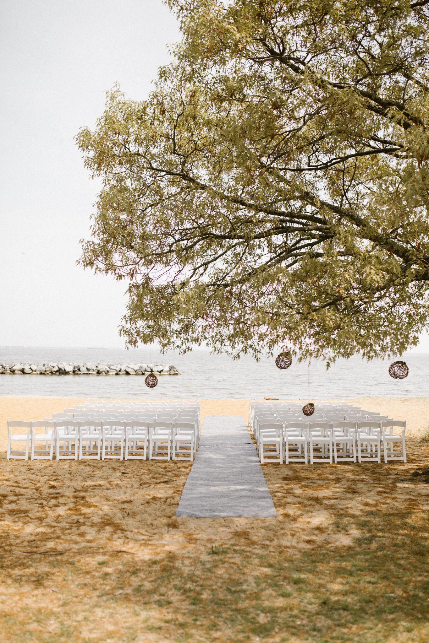 Relaxed beach wedding  Earthy Neutrals Beach Wedding  Earthy Beach weddings and Wedding