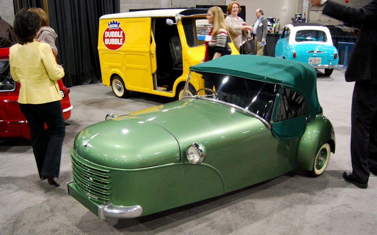 Atlanta auto show boasts big display of tiny cars