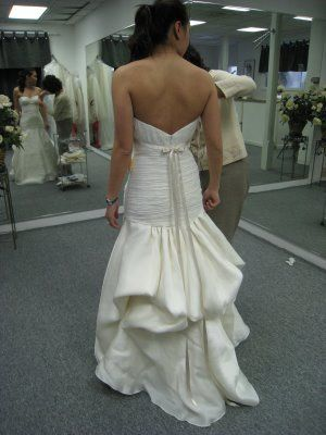 3 Point French Bustle Used Different Colored Ribbons To Make