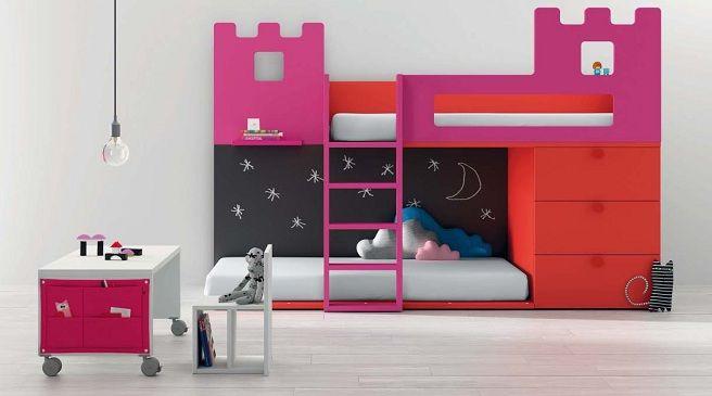 dormitorios infantiles6 Elsita Pinterest Habitación pequeña