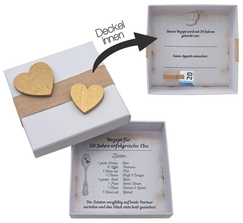 Geldgeschenk Verpackung Goldene Hochzeit Geschenk Rezept Fur 50 Jahre Ehe Geschenke Zur Goldenen Hochzeit Geldgeschenke Goldene Hochzeit