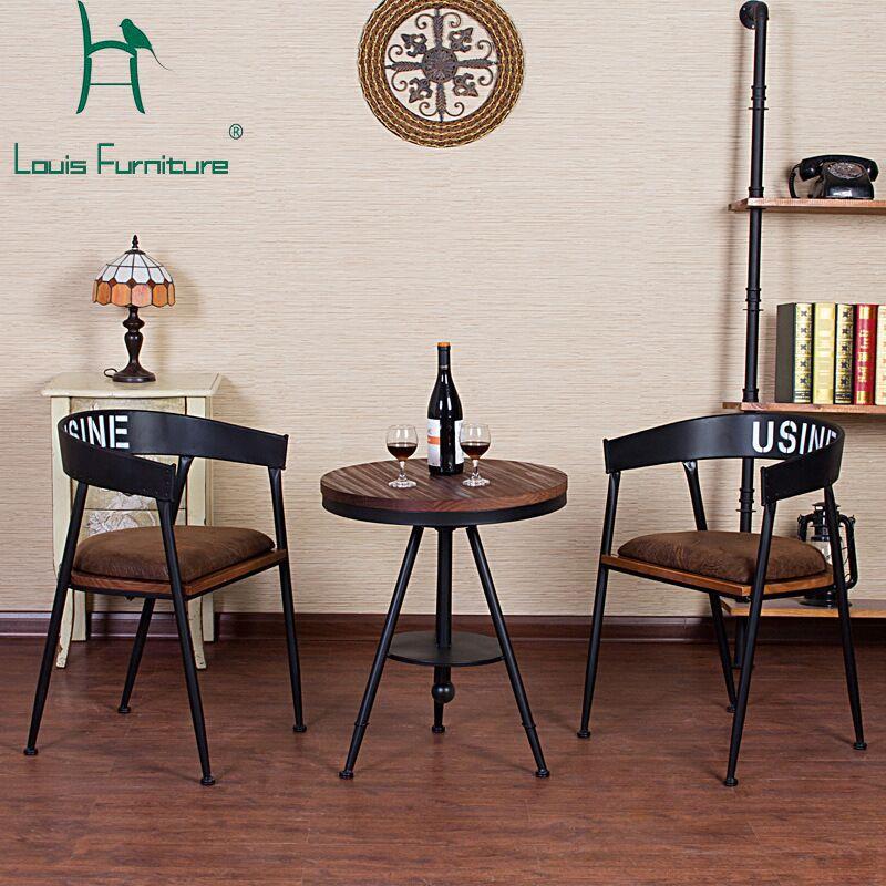 Pas Cher Francais Mode Chaises De Style Populaire Tabourets Cafe Maison Vin Bar Restaurant De Haute Chaises De Table A Manger Table Et Chaises Coussin Fauteuil