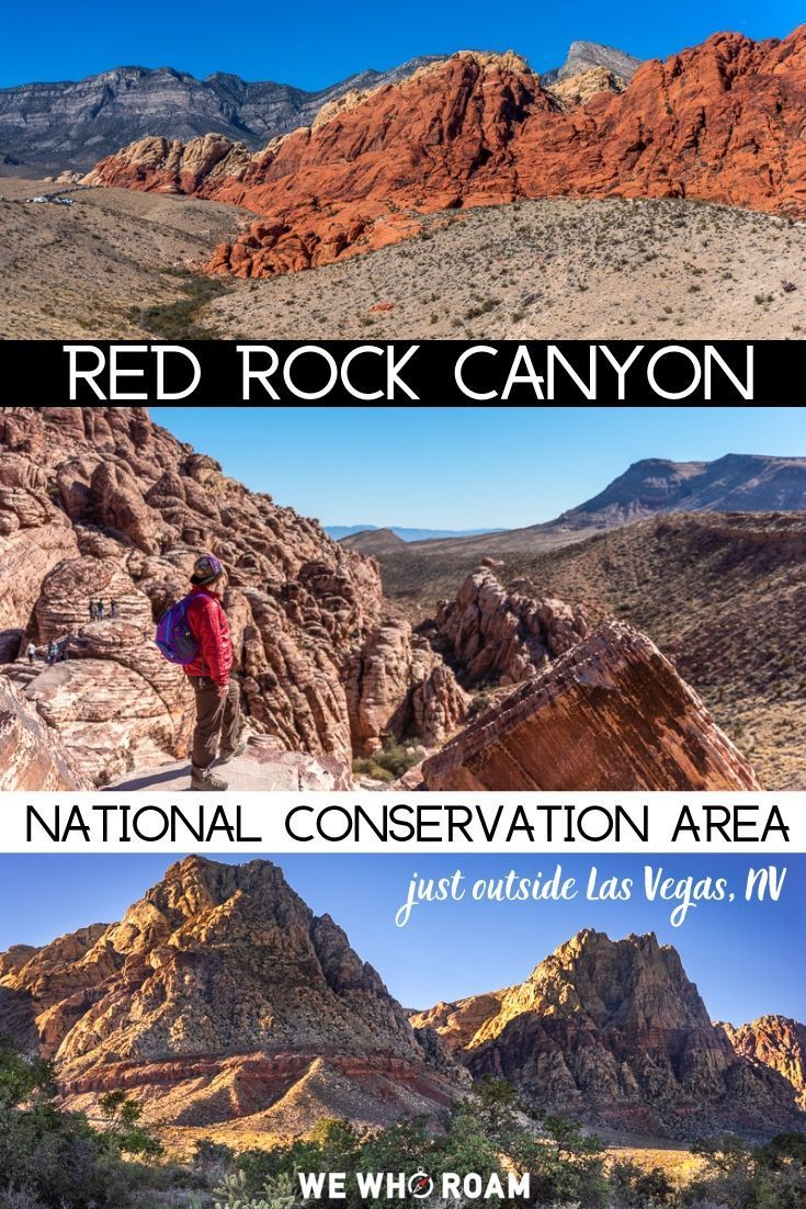 4 Stops at Red Rock Canyon National Conservation A