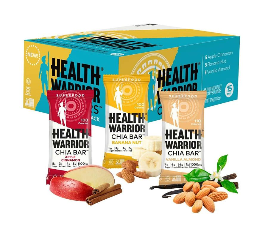 health warrior chia bars coconut