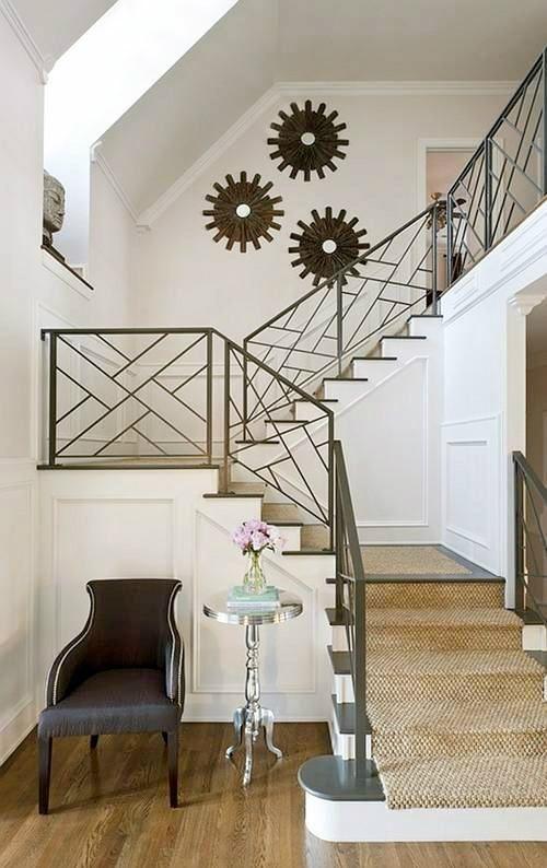 25 dise os de barandales para escaleras interiores y for Diseno de escaleras interiores