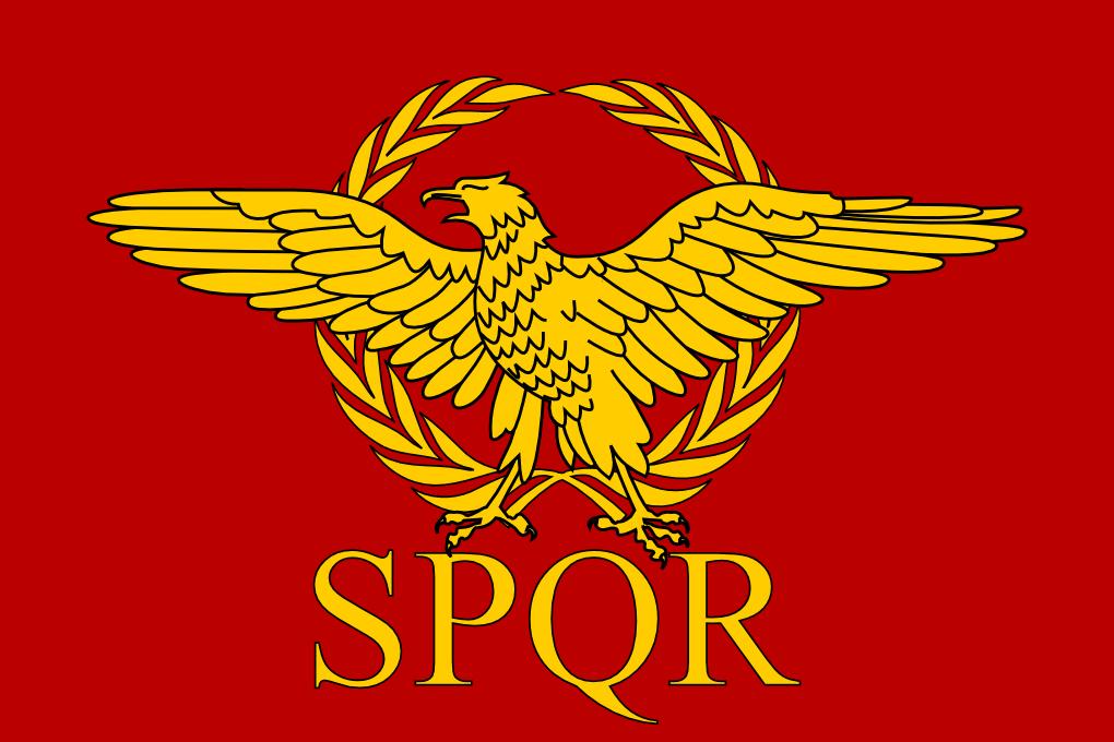 Senatus Populusque Romanus Ancient Symbols Roman Empire Rome