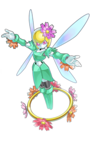 シャイニースター 光の翅をもつ妖精をイメージしたメダロット その儚げな雰囲気とは裏腹に大胆でいたずら好き 機知に富むディスターバンスで相手を謀る メダロット クンフー ハチ