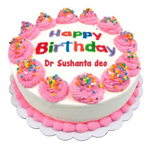 birthday wishes cake photo write name picture online edit